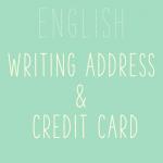 海外の通販サイト、英語での住所の書き方とクレジットカード情報の記入方法