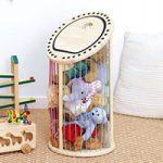 NHKで紹介されていたゴム製のおもちゃ箱が便利そう